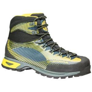 La scarpa da trekking La Sportiva Trango TRK, destinata all'alta quota e trekking impegnativi
