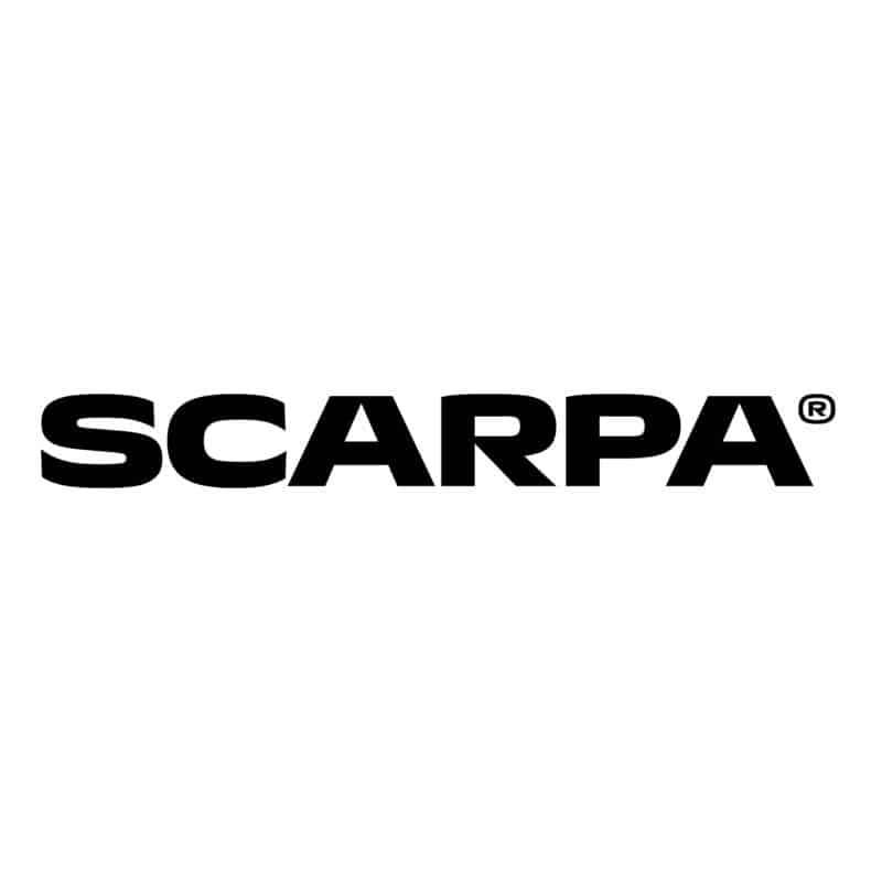 Calzaturificio SCARPA logo fondo bianco