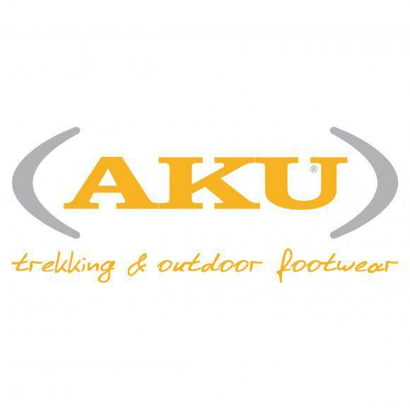 Il logo del marchio montebellunese AKU