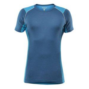 La maglia intima Devold Energy men T-shirt in colore blu