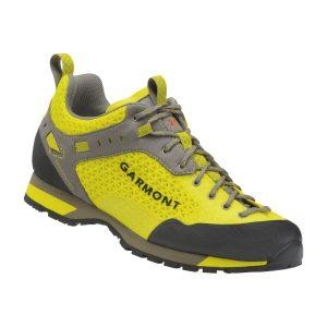 La scarpa da approach Garmont Dragontail N.Air.G, in giallo/antracite