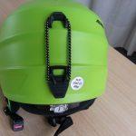 Casco Alpina Grap 2.0 con ottima protezione posteriore