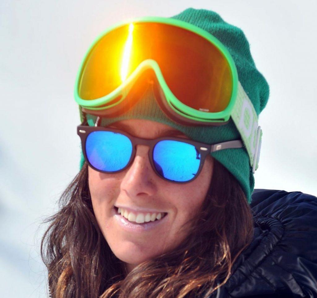 Valentina Porro, maestra di sci a Bormio