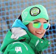 Francesca Toti, maestra di sci all'Aprica