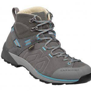 Gli scarponi Santiago GTX WMS_Grey_Turquois