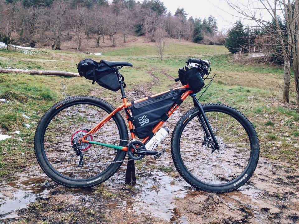 Borse per bikepacking made in Italy Rusjan