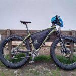 Fat bike montata con le borse Rusjan