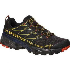 Akyra è la calzatura da mountain running strutturata e protettiva adatta a percorsi endurance