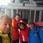 Pronti per affrontare il ghiacciaio della Val Senakles