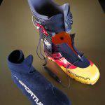 Dettaglio della scarpetta dello scarpone La Sportiva Raceborg Carbon