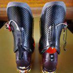 Dettaglio del sistema Ski/Walk dello scarpone La Sportiva Raceborg Carbon