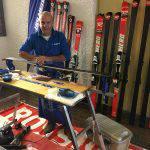Nando Ceinini, esperto Holmenkol, skiman di Coppa del Mondo