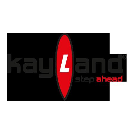 Il logo del marchio Kayland specializzato in alpinismo