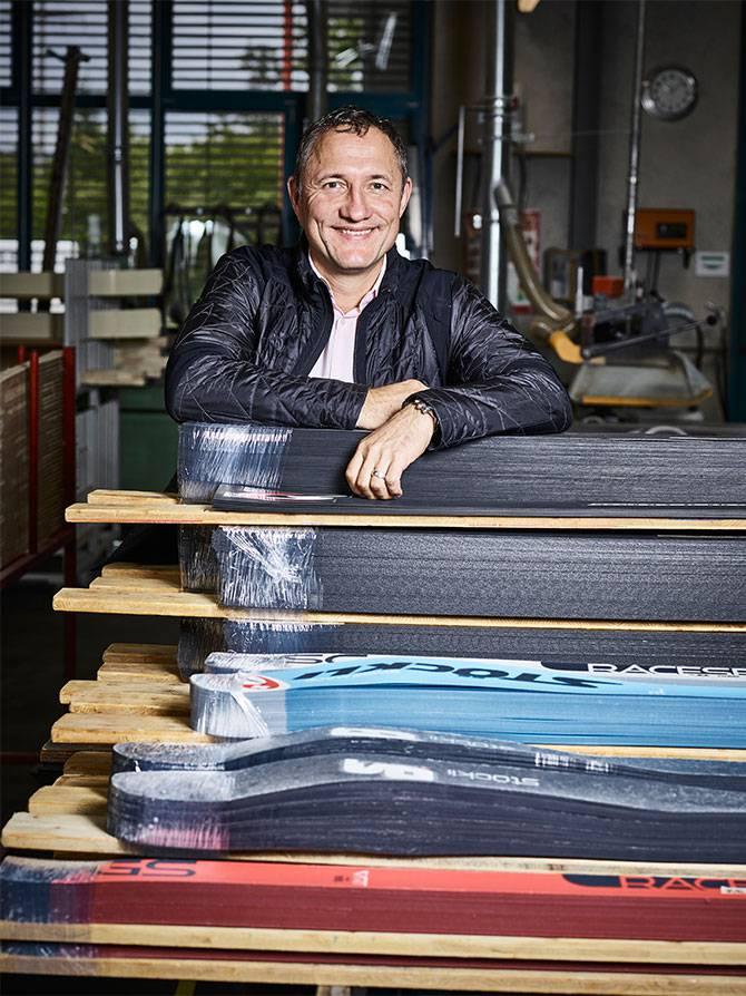 Marc Gläser, CEO Stöckli ski