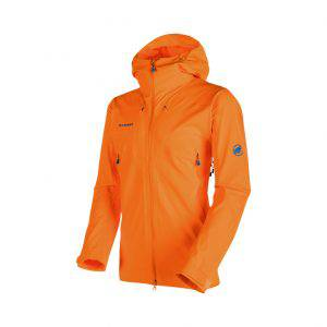 Mammut Ultimate Eisfeld SO Hooded, giacca da Alpinismo, escursionismo tecnico, sci alpinismo