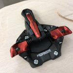 Il design tecnologico del puntale del Marker Alpinist