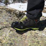 Prova di tenuta su roccia per la Kayland Cross Mountain GTX