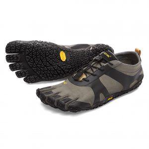 Vibram Fivefingers V_ALPHA, calzatura sensibile per off-road, colore Grey/Black