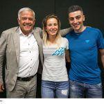 Heiner Oberrauch, Alba De Silvestro e Damiano Lenzi