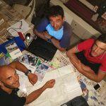 Preparazione al Monte Illimani: Stacchini, De Paoli e Morini