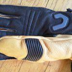Il palmo del guanto Level Off Piste Leather Beige