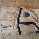 Il dorso del guanto Level Off Piste Leather Beige