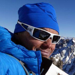 Paolo Lietti, maestro di sci e guida alpina di Arpica