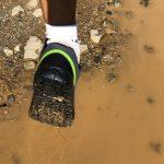 Shimano GR9 provata in acqua e fango per verificare la tenuta