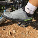 Shimano GR9 scarpa per pedale flat dotata di suola Michelin