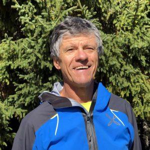 Daniele d'Alberto, milanese, maestro di sci, trail runner e scialpinista