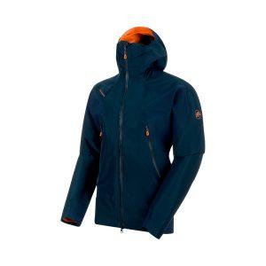 """La giacca Mammut Nordwand Flex, da sci alpinismo e freeride, colore """"Night"""""""