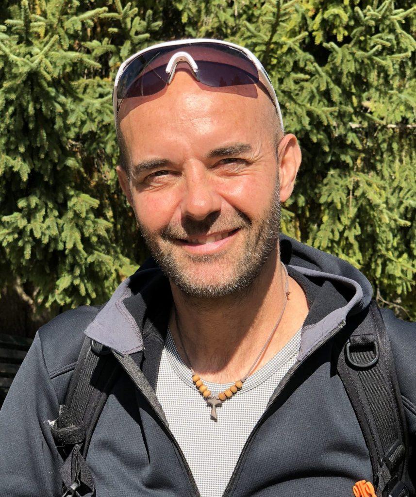 Riccardo Stacchini, outdoor man.