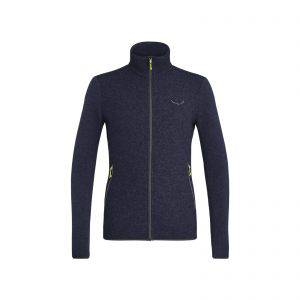 Salewa Fanes Sarner Light Alpine Wool Iconic Jacket man color_navymelange