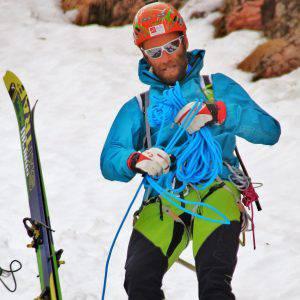 Omar Oprandi Guida alpina e Tecnico del Soccorso alpino