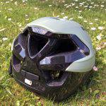 Uvex Quatro Integrale, casco da mountain bike, la calotta posteriore con 5 fori di aerazione