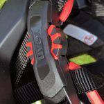 Uvex Quatro Integrale, casco da mountain bike, particolare della ghiera posteriore di regolazione del fit