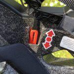 Uvex Quatro Integrale, casco da mountain bike, il meccanismo interno di regolazione dell'altezza del casco