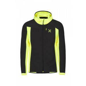 Montura Basalto Hoody Jacket nero:giallo fluo