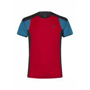Montura Outdoor Trail 2 T-Shirt rosso/blu ottanio
