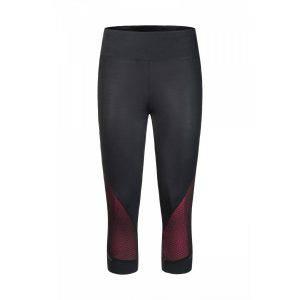 Montura Run Viper 3/4 pant nero/rosa