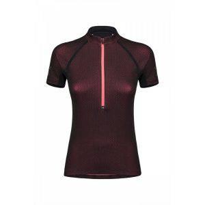 Montura Run Viper Zip T-Shirt W pink front