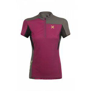 Montura Selce Zip T_Shirt W malaga/castoro