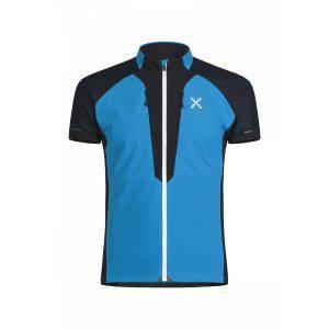 Montura Viper Race Zip T-Shirt blue