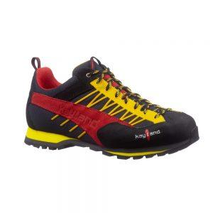 Kayland Vertex Red Yellow, scarpa da avvicinamento