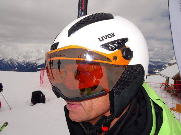 Uvex hlmt 600 visor V