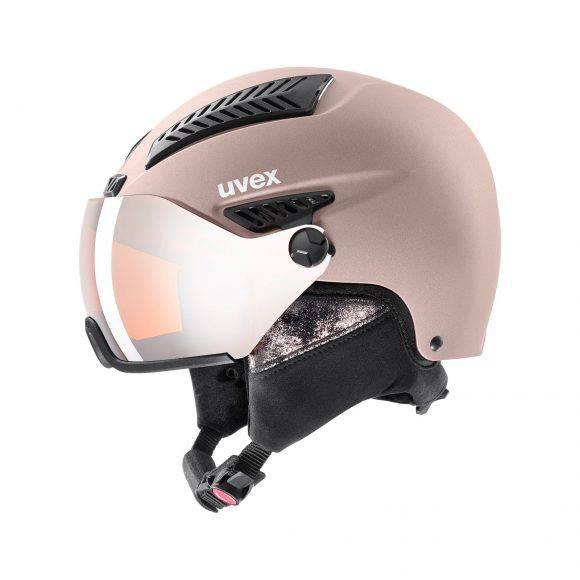 Uvex hlmt 600 visor, casco da sci unisex adulto S566236