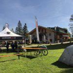 """La """"base test"""" in località Tovre, presso il rifugio La Montanara"""