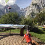 Enzo Romeri, trail runner locale, ci ha guidato sui sentieri dove è solito allenarsi