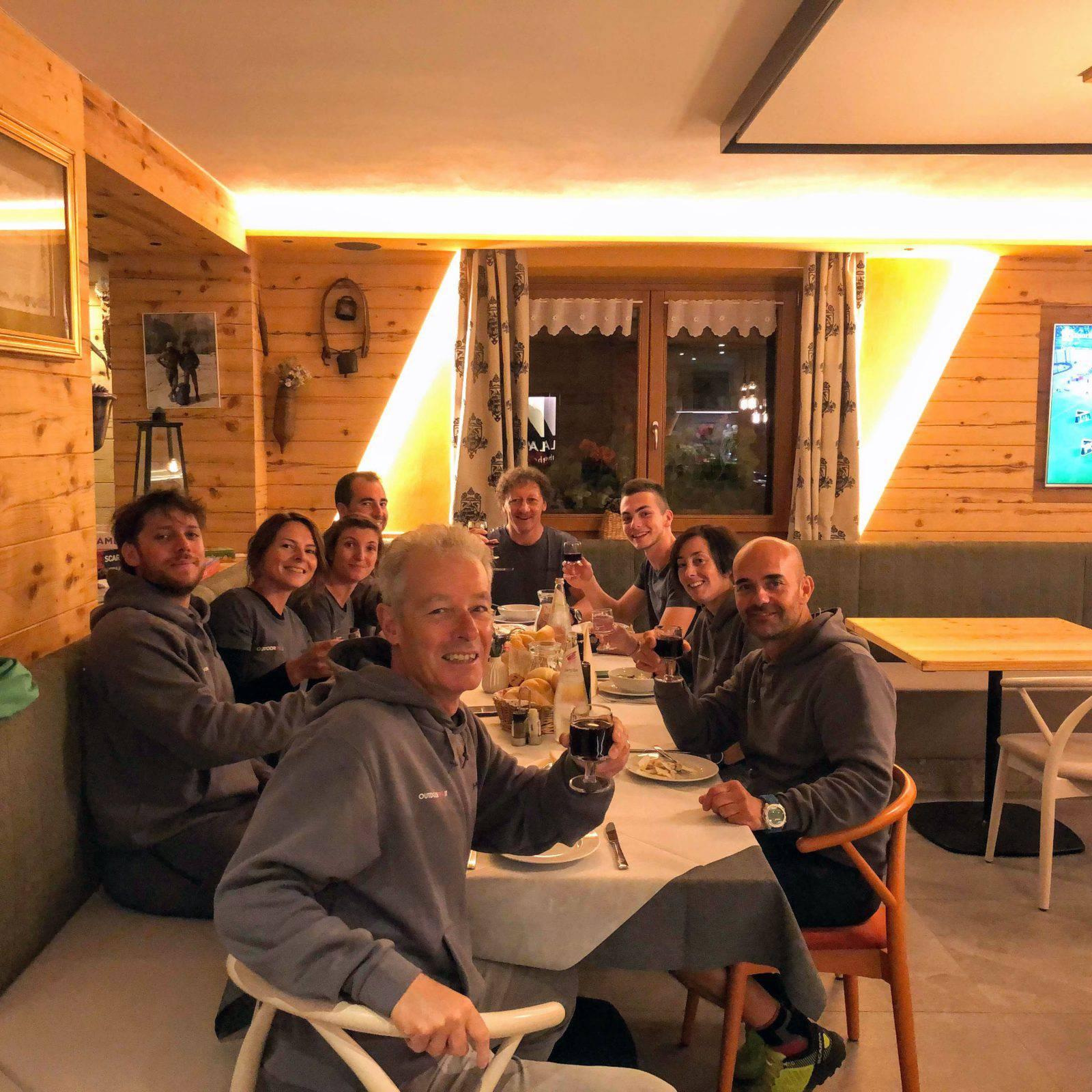 Il Tester Team ha fortemente apprezzato l'ospitalità e la cucina del rifugio La Montanara di Molveno