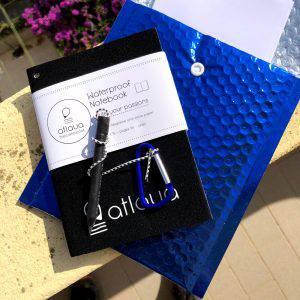 Atlaua Waterproof Notebook, il taccuino impermeabile per l'outdoor